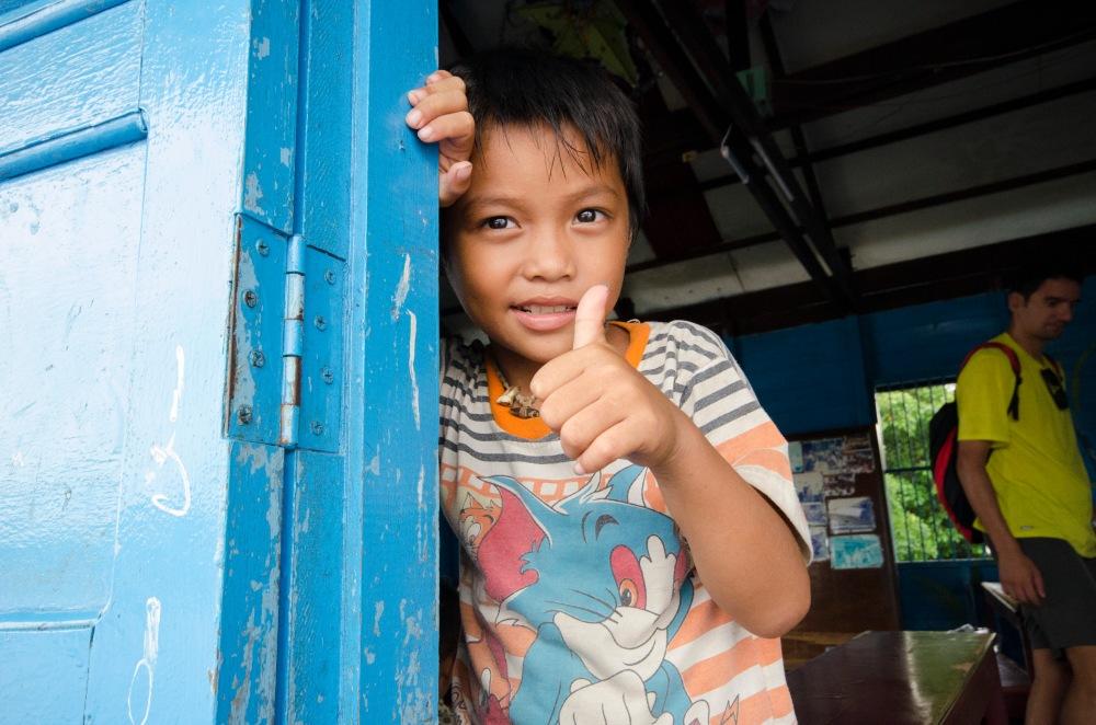 Tonle Sap - SchoolChild